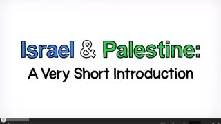 Israeli Palestinian conflict explained: an animated introduction to Israel and Palestine