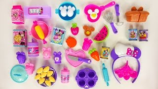 Minnie Mouse Kitchen Playset | Cooking with Bowtique Accessories Toys for Kids