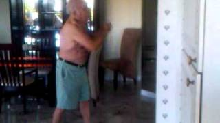 Jake LaMotta Shadow Boxing at 89 Years of Age After Taking Nutronics Labs IGF-1