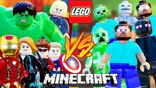LEGO VS MINECRAFT - LEGO Marvel Avengers (Vingadores) Briga de Herois #149