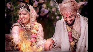 Virat Kohli and Anushka Sharma Exclusive Wedding Photos