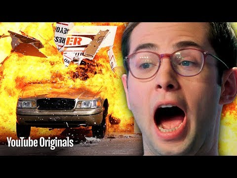 The Try Guys Vs. Dormtainment • Action Movie Stunts