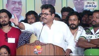 Sarathkumar questions Kamalhasan | Nadigar Sangam election | Tamil The Hindu