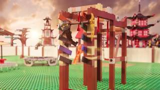 Obstacle Training Home Video- LEGO Ninjago- Stop Motion