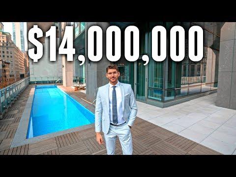 NYC Apartment Tour 14 MILLION LUXURY APARTMENT