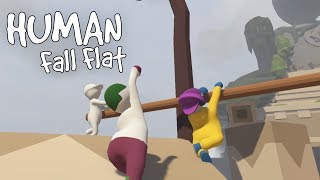 TEMPLE OF DUMB - Human Fall Flat Gameplay