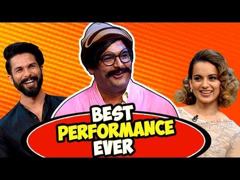 Rajesh Arora's Best Performance Ever with Shahid Kapoor and Kangana Ranaut | The Kapil Sharma Show