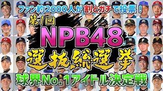 ファンが投票! 第1回 NPB48 選抜総選挙