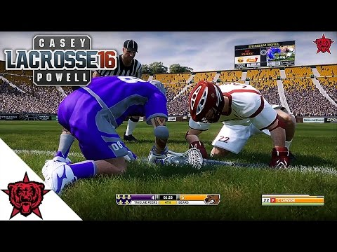 Lacrosse Video Game: Casey Powell '16 - Full Game
