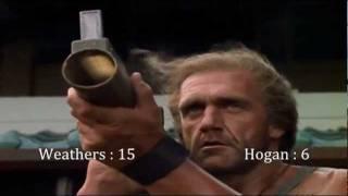 Shadow Warriors : Assault on Devil's Island (1998) Hulk Hogan & Carl Weathers KillCount