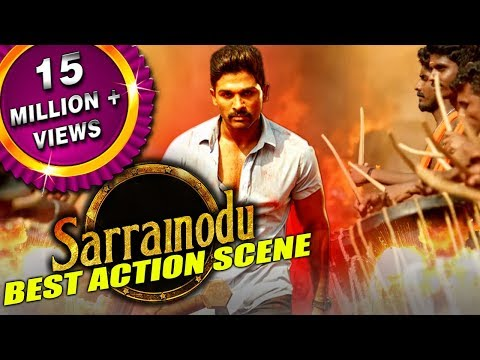 Download Sarrainodu New Best Action Scene | South Indian Hindi Dubbed Best Action Scenes