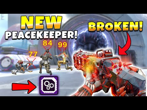 NEW THEY BUFFED THE PEACEKEEPER IN LEGACY NEW Apex Legends Funny & Epic Moments 633