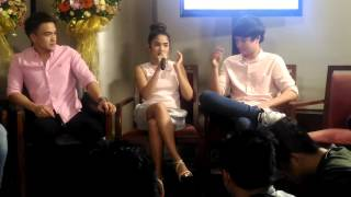 JK and Andrea talks about their difficult scene Pangako sa Yo