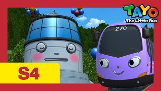 Tayo S4 #09 l Trammy's first day at work l Tayo the Little Bus l Season 4 Episode 9