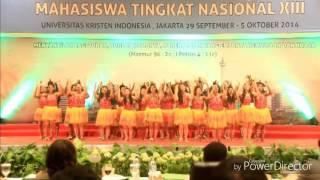 Gema Chandra Choir UNCEN_Tari Woi