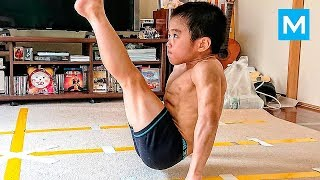 SUPER KID or Baby Bruce Lee? - Ryusei Imai | Muscle Madness