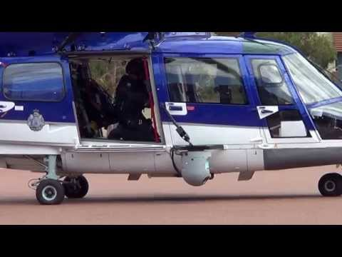 WA Police Helicopter-Eurocopter AS365N3+