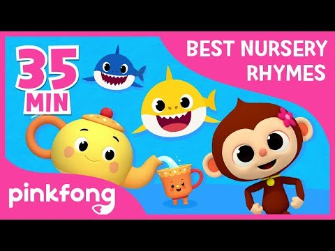 FIve Little Monkeys and more | Best Nursery Rhymes | +Compilation | Pinkfong Songs for Children