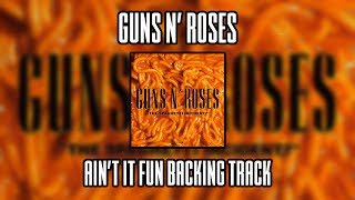 Guns N' Roses Ain't It Fun backing track (Lead guitar)