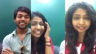 Aarav facebook live in first time | Aarav Talk about oviya in facebook live