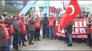 Asil Çelik Grev İlanı- Genel Başkan Vardiya Çıkışı Açıklaması 16.12.2016