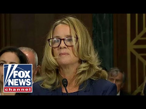 How did reporters get Dr. Christine Ford s story