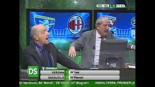 DirettaStadio 7Gold Frosinone - Milan 2-4 Ballo scatenato di Tiziano Crudeli!