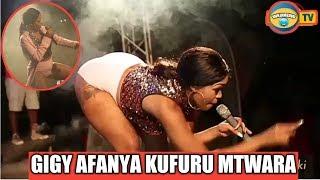 Gigy Money Afanya Kufuru LIVE Mbele Ya Mashabiki Mtwara