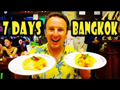 A Week in BANGKOK Food Temples & Shopping