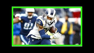 TODAY NEWS - Todd gurley brought the rams to the nfc west title since 2003 in the year
