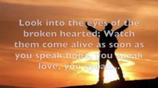 Speak Life Lyrics  - TobyMac