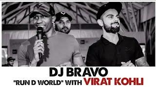 DJ Bravo - Run D With Virat Kohli Whatsapp Status Video Song...