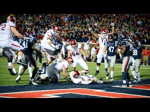 Arkansas Uses Lateral 2 Point Conversion To Upset Ole Miss In OT CampusInsiders