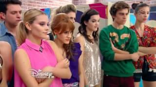 Soy Luna   Capítulo 11   Luna y Simón bailan 'Valiente' en la competencia