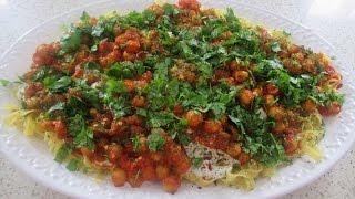 Spaghetti  (  آش  غوریگی ) recipe Afghani  ash reshteh recipe آش مکرونی چکه دار با قورمه نخود