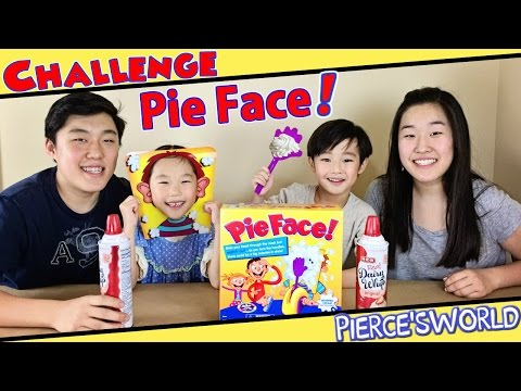Best Funniest Pie Face Game Challenge