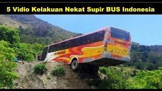 5 Kelakuan Nekat Supir BUS Indonesia