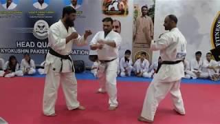 Sensei Bilal Khan (instructor Raja's Martial Arts HQ) & Sensei Saleem Khan (from Chakwal)