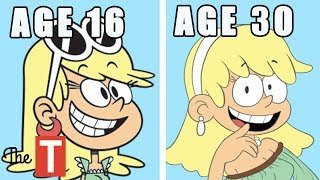 10 Loud House Characters ALL GROWN UP