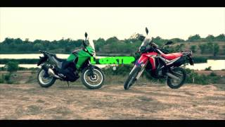 Versys X300 & Crf250Rally by Looktep