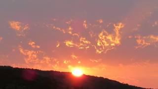 Sunrise in Manal Bay İzmir