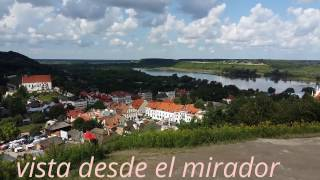 Polonia,fotos y vidio Kazimiez Dolny ruinas de castillo