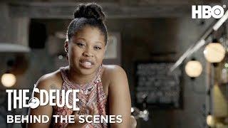 Meet Dominique Fishback aka Darlene | The Deuce (2017) | HBO