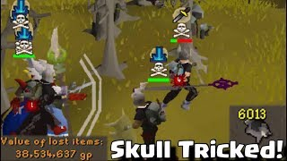 Anti PKing At Chins 2 - Old School Runescape