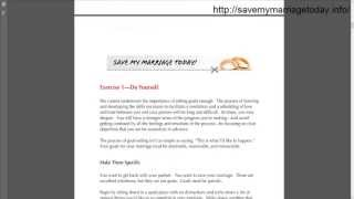 Amy Waterman Save My Marriage Today Book