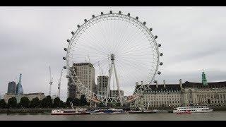 London thames Riesenrad Millennium Wheel Coca-Cola London Eye Лондонский глаз