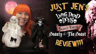 Living Dead Dolls Beauty And The Beast Review By Just Jen