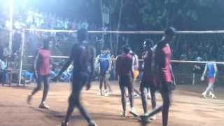 Volleyball - Indian volleyball sng college v/s tamilnadu