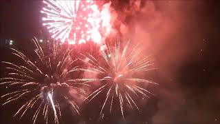 E27 Al Seef Marina DSF Fireworks | Uriel TV