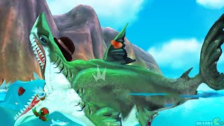 Hungry Shark World - SEA Monster Megalodon Shark Unlocked ALL Sharks!